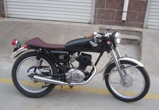 去复古摩托车吧,转转.你的车有很好的改装潜力图片