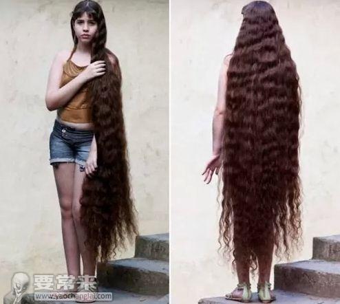 吉尼斯纪录全世界头发最长的人特辑图片