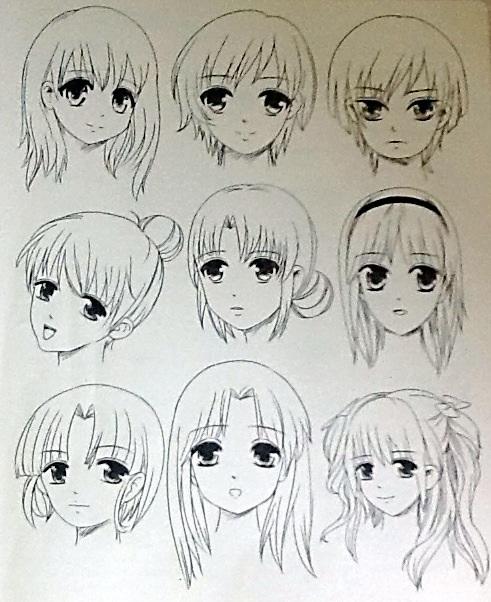 【教程】美少女篇 动漫大图鉴