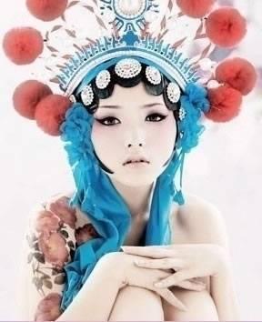 时尚中国风 国粹也性感