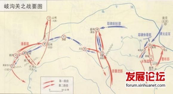 【长知识】改变中国古代历史命运的八次战役图片
