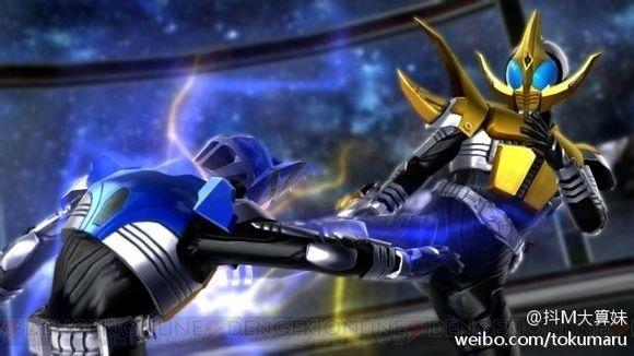 劫持den-liner的假面骑士牙王登场图片
