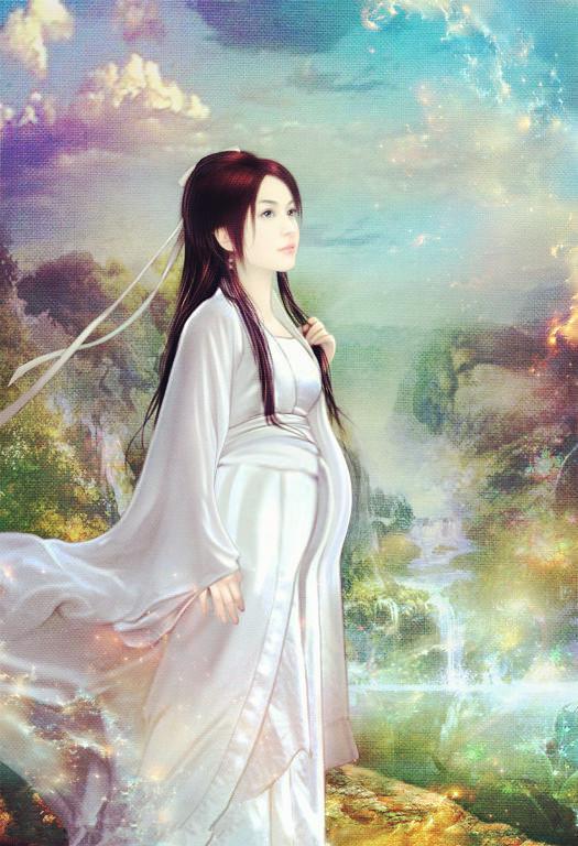 【图片】古代怀孕女子丹青