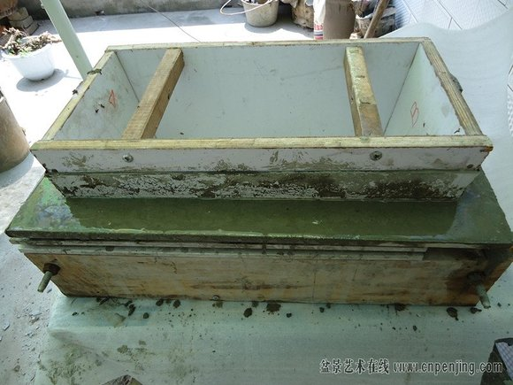 混凝土自制花盆(转)图片