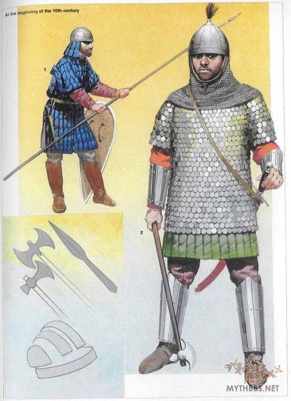 后者则是在马其顿王朝就开始在帝国服役由东迁南俄草原的北欧人组成