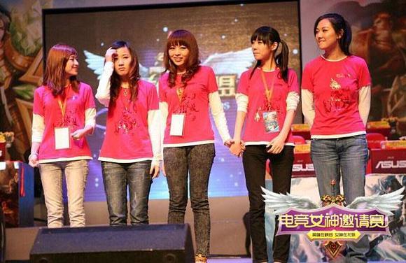 tga联合龙珠直播发布中国首个女子lol赛事