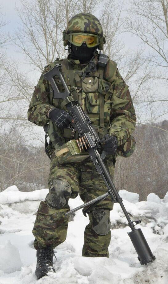 中外单兵武器对比图片