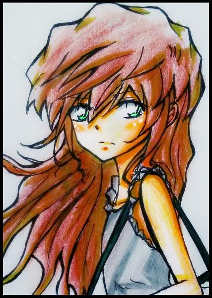 回复:【枫哀】「原创」亚麻色头发的少女——流川志保