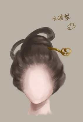 中国古代女子发型 古代发型吧