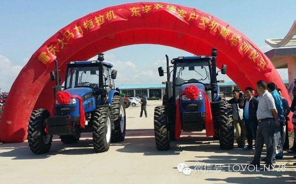雷沃大马力拖拉机 挺进 东辛农场 福田雷沃重工吧 百度贴吧 高清图片