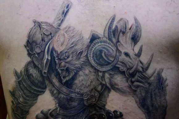 你会选什么英雄纹身上?图片