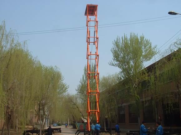 升降机,升降平台的液压原理图图片