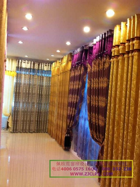 2013年窗帘款式、色彩搭配方面的流行趋势吧! 在诸多家居风高清图片
