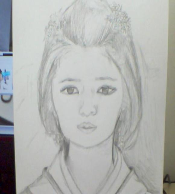 铅笔画首次发图