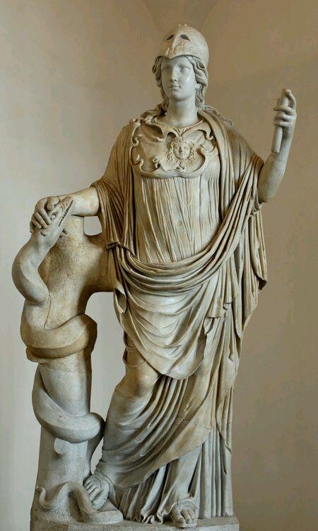 请问哪位大神知道这个雅典娜雕塑