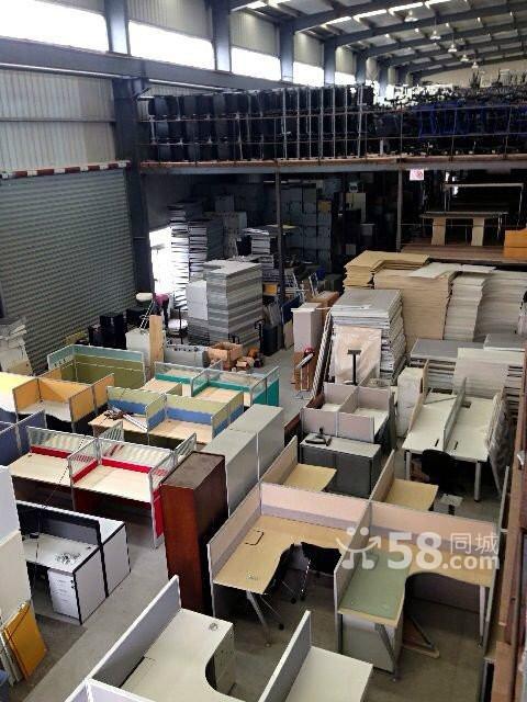 莘虹9成新品牌办公家具二手家具5月折上折老板桌屏风 上海高清图片
