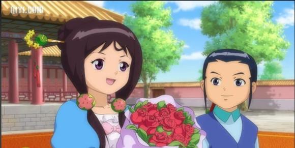 玫瑰花还是华伦送个柔柔的,矮油~高清图片