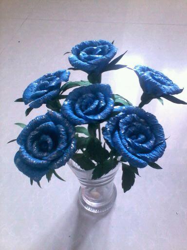 菏泽麒麟刺青蓝色妖姬做好了图片