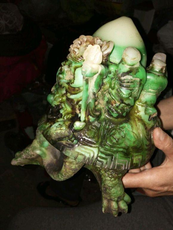 八仙过海龟寿桃求鉴定 古董吧 百度贴吧