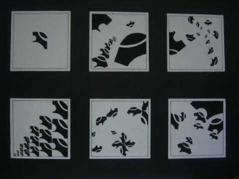 平面密集构成图片图片
