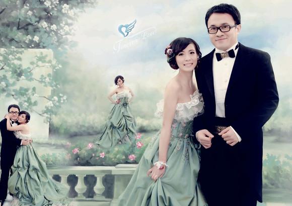 照片喷绘 婚礼喷绘