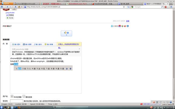 在archlinux的中文wiki