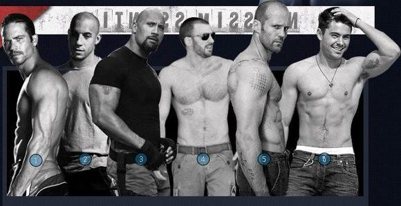杰森斯坦森的肌肉不错图片