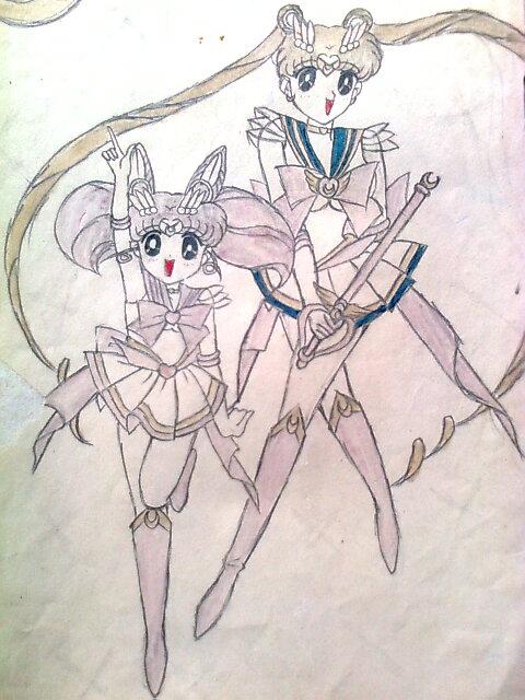 【手绘】那些年画过的美少女战士