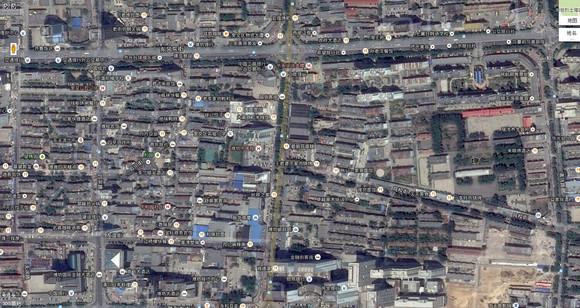 潍坊城区在谷歌地图下没有原形毕露啊 山东吧 百度贴吧 高清图片