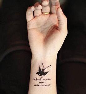 纹身的小清新图_小清新纹身吧图片
