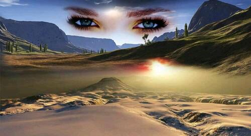 【原创】我睡在你眼睛的沙漠里