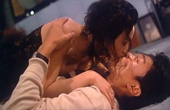 【星图片】星爷的吻戏