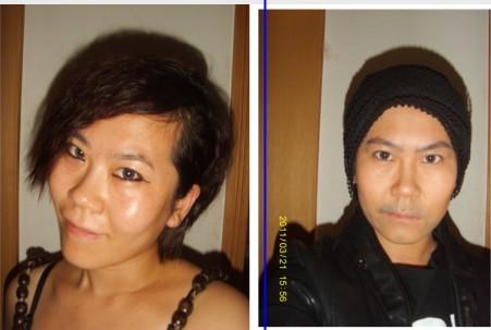 谁能将女人化妆成男人啊?北京的