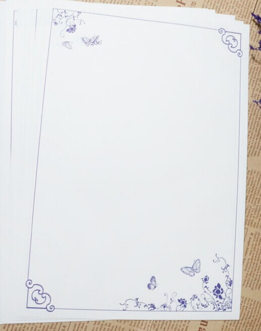 【征集】古风cos小道具——信纸图片