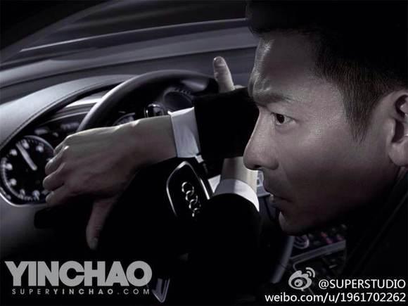 刘德华演绎奥迪25周年广告大片图片