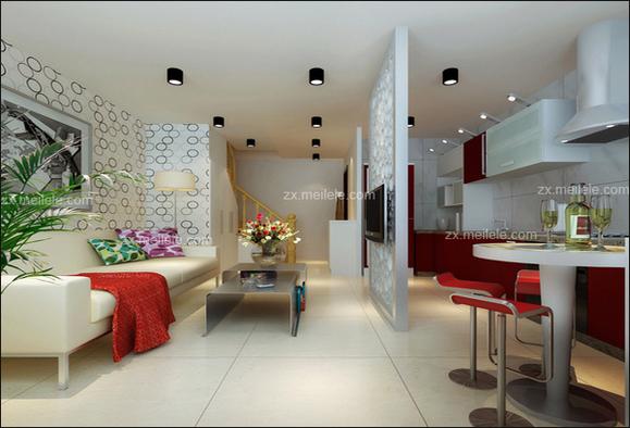 享受五星级大酒店待遇公寓式酒店装修设计 成都装饰吧 百高清图片