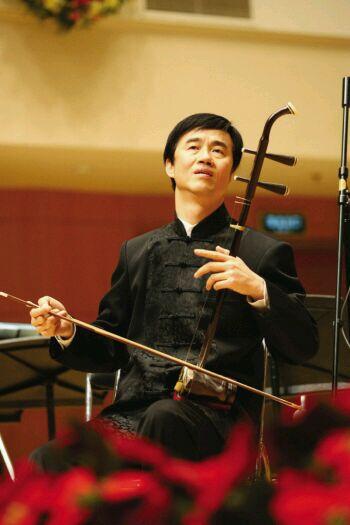 朱昌耀二胡独奏曲《月亮高高照九州》简谱原曲名为《月亮弯弯照九州》图片