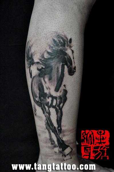 1990年1990年属马人纹身纹什么好图片