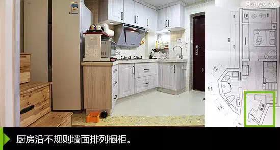 最全小户型厨房设计方案!开放式,迷你型图片