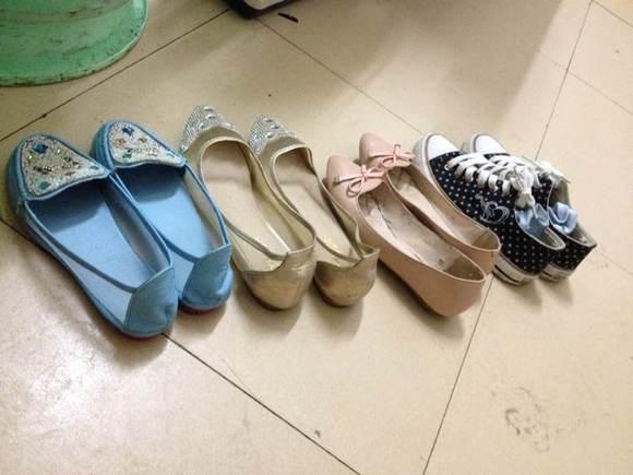 大爱平底鞋 全是美女或者少妇的