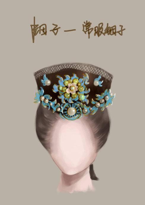 中国古代女子发型首饰图解