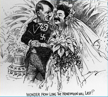 斯大林与希特勒孰好孰坏图片