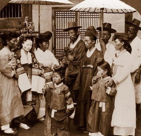 前的韩国美女们