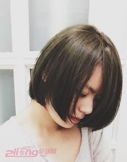 写意天下0315>越看越喜欢的韩式波波头短发发型图片图片