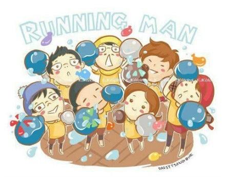 求runningman这套图的高清版本.最好有七个人分别的图图片