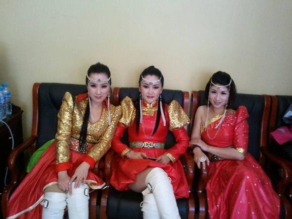 蒙古族美女《阿尼尔组合》