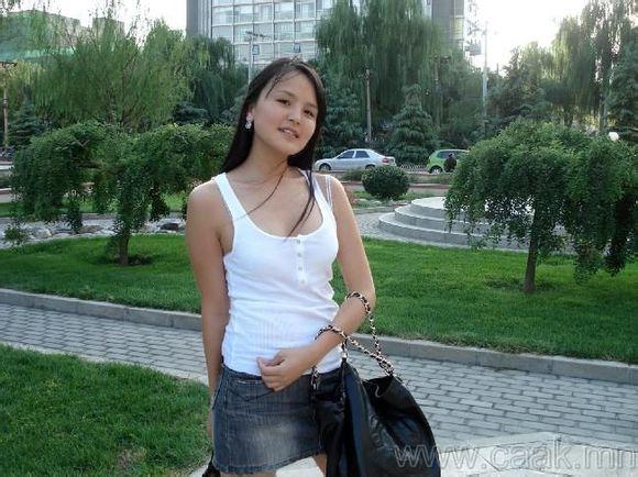 蒙古国美女,有通古斯特征么?图片