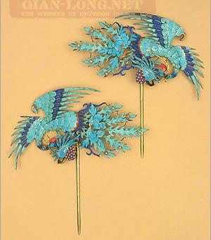 清朝后宫妃子的首饰,很精美啊 妃嫔这职业吧 百度贴吧高清图片
