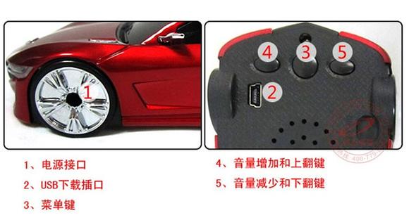 激情夏日 讴歌跑车造型电子狗菲特安f830促销热卖中 电子狗高清图片