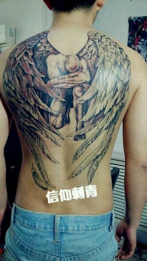 堕落天使路西法_纹身吧图片